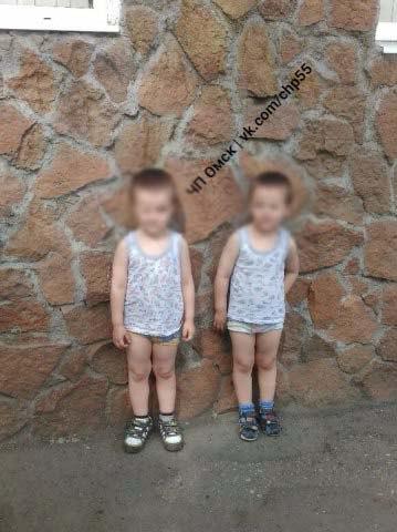 Два 4-летних омича сбежали из дома