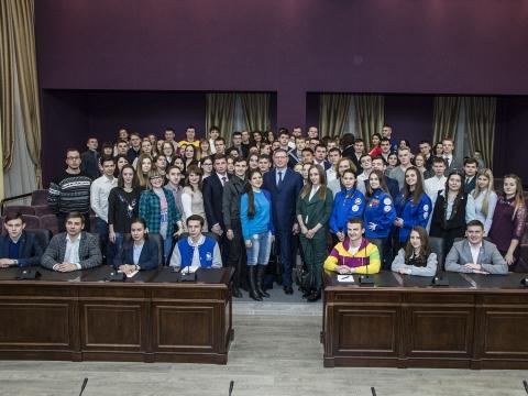 Бурков посоветовал омским студентам попробовать себя в бизнесе