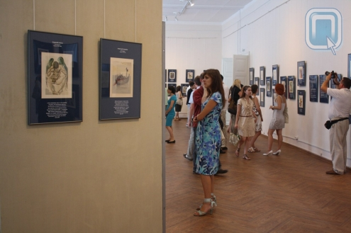 Сергей Летов сыграл на открытии выставки Дали