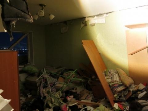 Опубликованы фото из квартиры, где взорвался баллон с газом