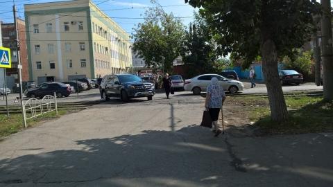 В Омске парализовало движение трамваев из-за ДТП