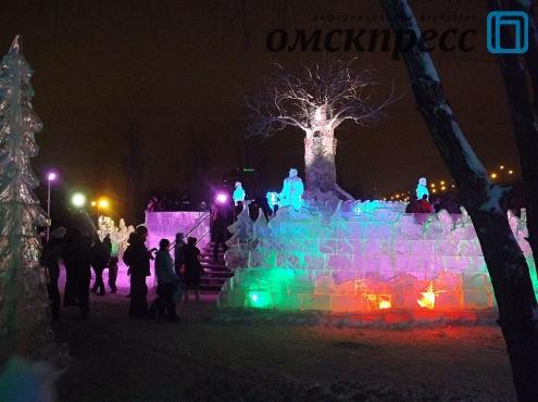 Ледовый городок от завода Попова пополнил Книгу рекордов России
