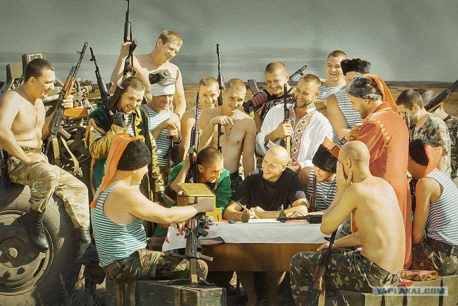 Омичи пишут письмо казакам с «антирадаром»