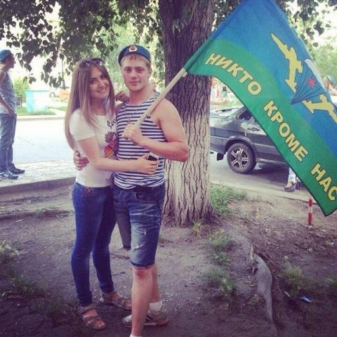В Омске отмечают День ВДВ