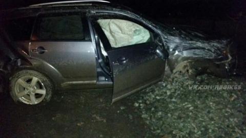Очевидцы: угонщики из омской СТО разбили Mitsubishi Outlander