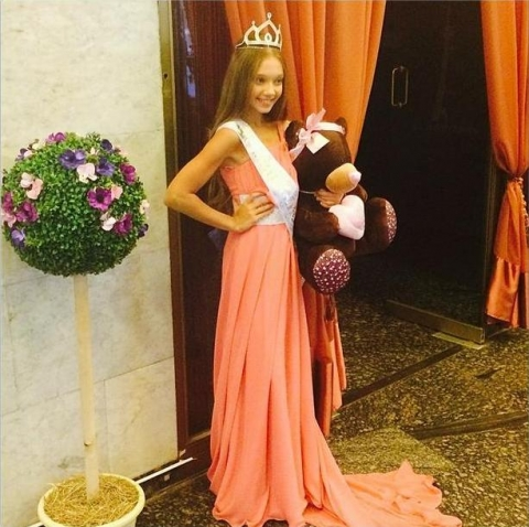 Юная омичка завоевала главную победу на всероссийском конкурсе красоты
