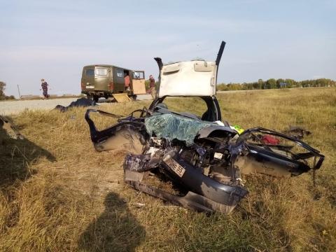 В Омской области произошло смертельное ДТП на встречке