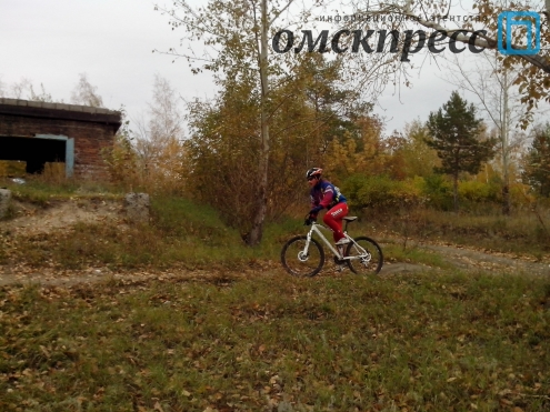 В Омске определили самого экстремального велосипедиста