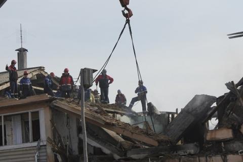 Омский губернатор показал новый дом для пострадавших от взрыва