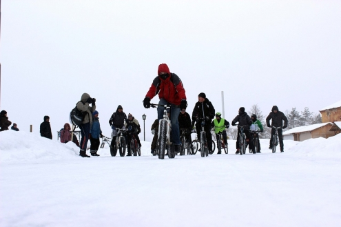 """По омскому """"Городскому катку"""" проехались велосипедисты"""