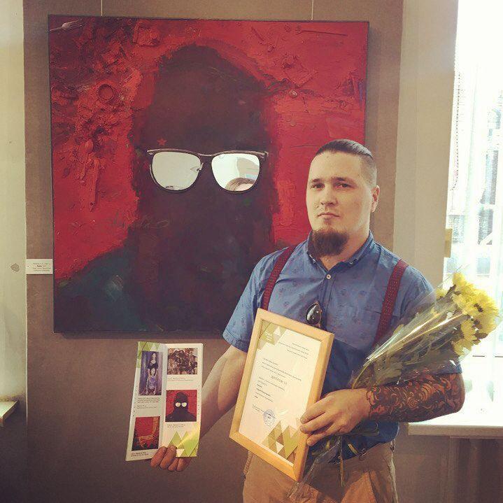 В Омске художница получила премию 75 000 за «Двойной автопортрет»