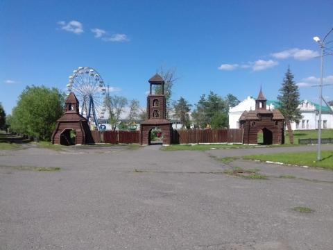 В городах Омской области благоустроили парки