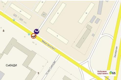 """У СибАДИ и """"Консум-Центра"""" водителям запретили поворачивать налево"""