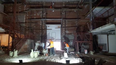 На омском театре «Галерка» занимаются внутренней отделкой и устройством фасадов