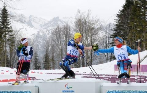 Омская спортсменка выступила в паралимпийской лыжной гонке