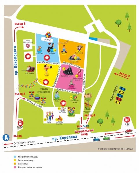 В День города омичи смогут заняться йогой на фестивале «Твой день»