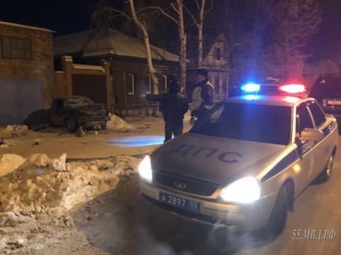 В Омске водитель «Лады» скрылся с места смертельного ДТП