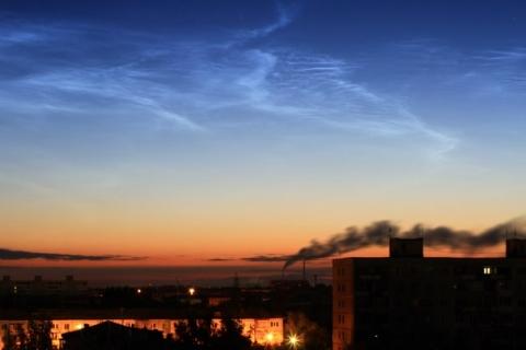 Омичи наблюдают редкое атмосферное явление