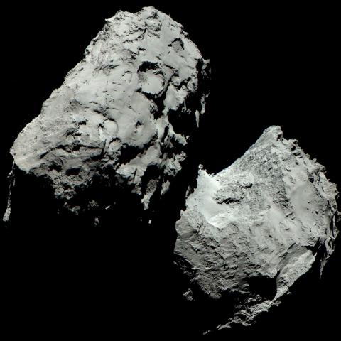 Снимок кометы Чурюмова-Герасименко