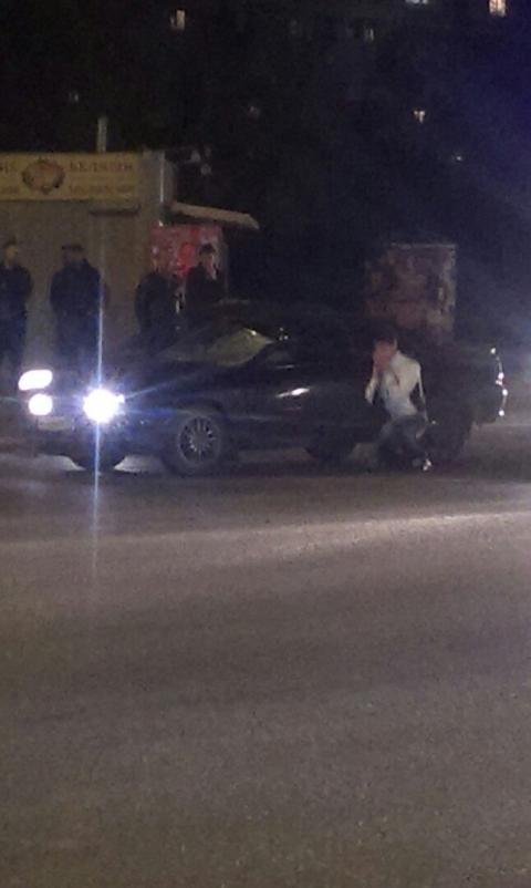 В Омске Тойота насмерть сбила пьяного пешехода