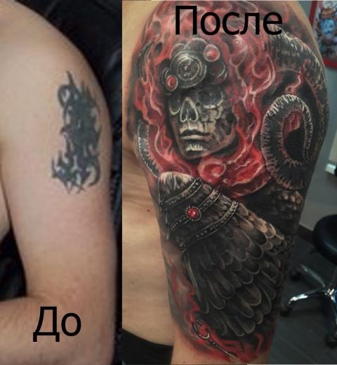 Татуировки в Омске