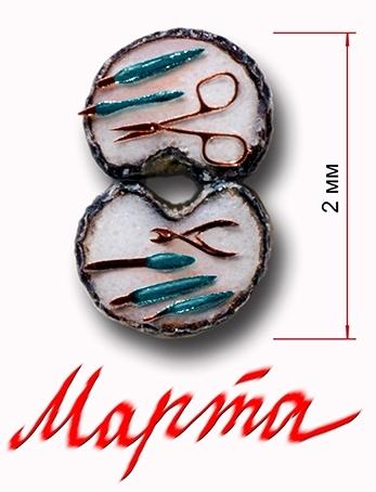 Омские умельцы изготовили к 8 марта микроскопический маникюрный набор