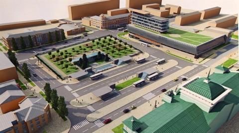 Омский градостроительный Совет раскритиковал новый проект Привокзальной площади