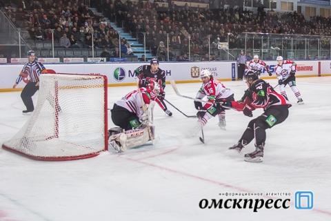 """Омский """"Авангард"""" остаётся без очков в предпоследнем домашнем матче чемпионата"""