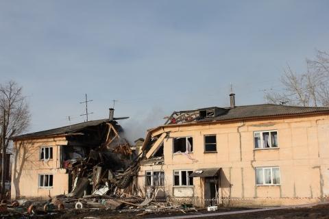 Взрыв в Омской области унёс жизни двух человек
