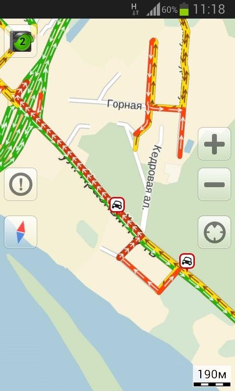 В Омске на Красном Пути образовались пробки из-за нескольких аварий
