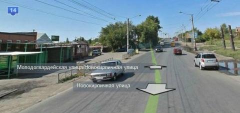 Омский маршрутчик врезался в конкурента, сбившегося с пути