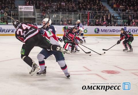 """Омский """"Авангард"""" одержал юбилейную победу в нынешнем сезоне"""