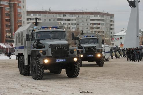 У СКК Блинова прошли учения полиции