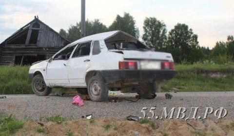 В Тарском районе сельчанин погиб в страшном ДТП