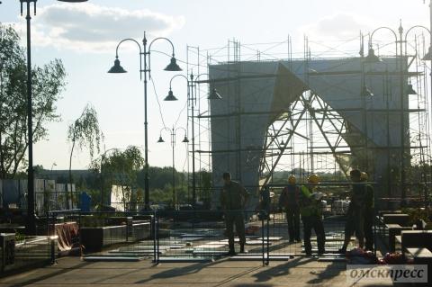 На Чокана Валиханова до сих пор идут ремонтные работы