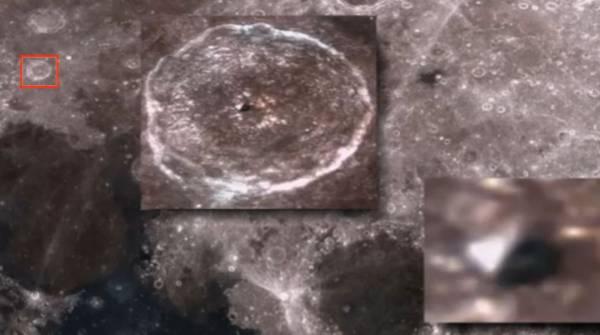 На снимке Луны нашли инопланетную пирамиду