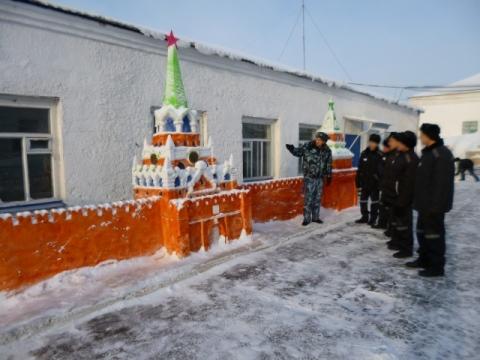 В омской колонии появился свой Кремль