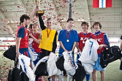 В Омске прошел II этап Всероссийского Чемпионата KFC по мини-футболу