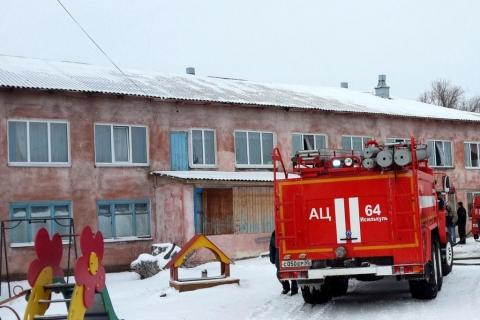 В Омской области из-за пожара в интернате эвакуировали 112 детей