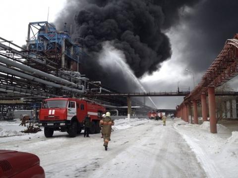 """""""Титан"""" сообщил подробности пожара на заводе СК"""