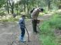 Потерявшийся мальчик вышел из леса