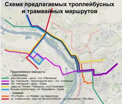 Общественники предложили новые трамвайные маршруты в Омске