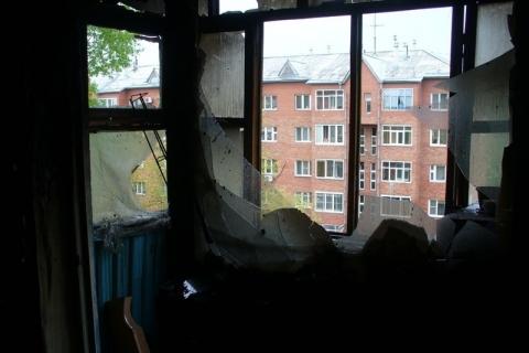 В Омске из пожара на 21-й Амурской спасли двух жильцов
