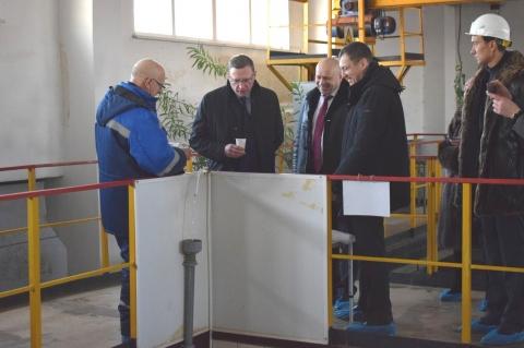 Омский водоканал торжественно запустил работу нового очистного сооружения