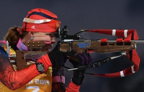 Омская биатлонистка стала призёром Олимпиады в Сочи