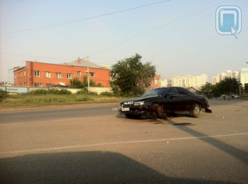 Вечером в Омске произошло сразу две серьёзных аварии