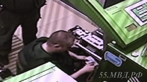В Омске инкассатор обчистил банкомат