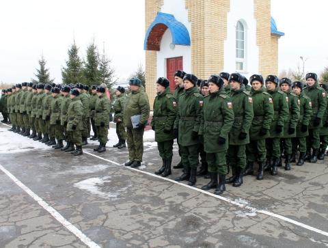 94 омича пополнят ряды Сухопутных войск, Ракетных войск и Нацгвардии