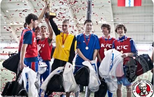 KFC устроит в Омске чемпионат по мини-футболу