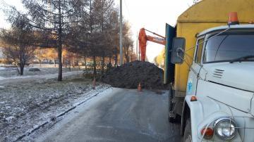 В Ленинском округе ликвидировали аварию на водопроводе